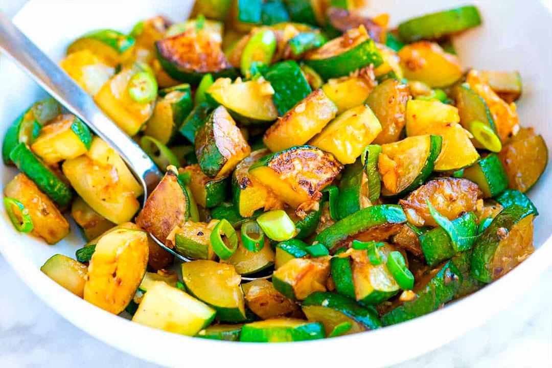 crepes vegetarianos con calabacín